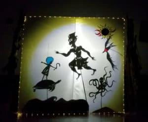 Tarara, Kao, la Tortue, la Pieuvre et la Frégate s'envolent à la recherche d'un autre monde